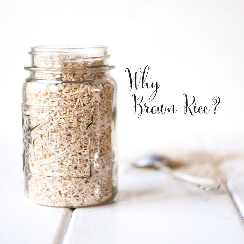7 DAYS OF ME: Why is brown rice healthy?