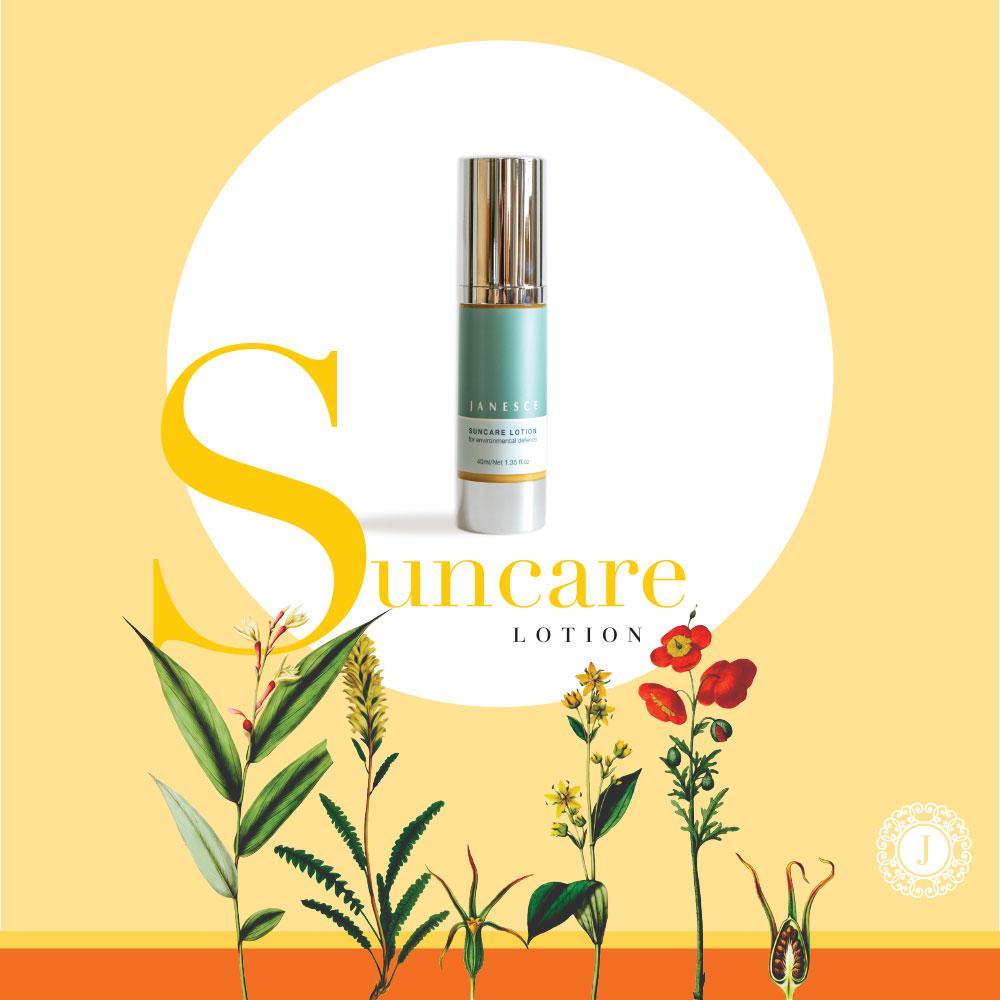 janesce botanical suncare lotion image