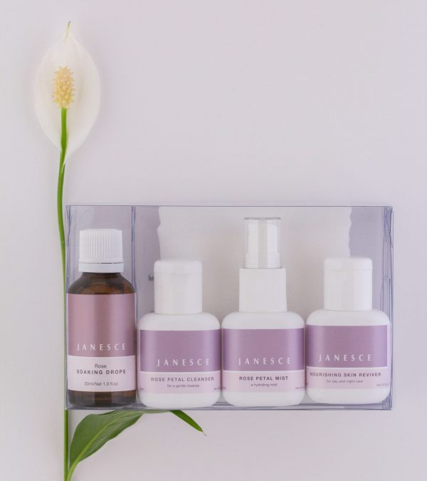 Rose Intro Pack | Janesce NZ | Natural Skincare NZ